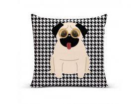Almofada com Capa Personalizada Pug