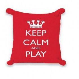 Almofada Keep Calm com Catnip