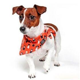 Bandana Dog&Roll DogStar Orange - M