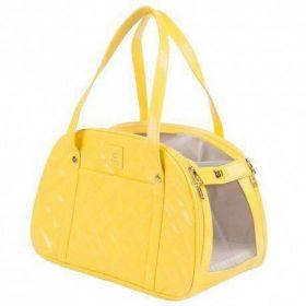 Bolsa Woof Classic Amarela para Transporte Pet
