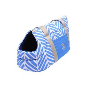 Bolsa Woof Classic de passeio Llama Azul