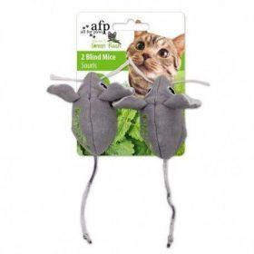Brinquedo Dupla de Ratinhos com 12g de Catnip AFP