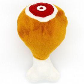Brinquedo para Pet em Pelúcia - Coxa de Frango