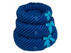 Cama Fofinha Woof Classic Pic Nic Blueberry - P