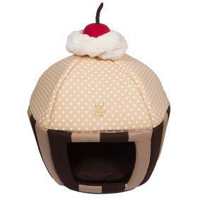 Caminha Cupcake Woof Classic Listra Marrom