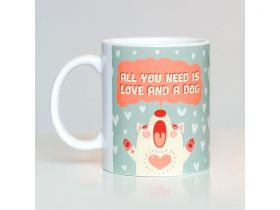 Caneca de Cachorro Love You Need