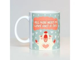 Caneca de Cachorro Love You Need