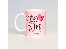 Caneca We Love Dogs