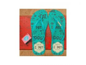 Chinelo Acqua I Love Pet