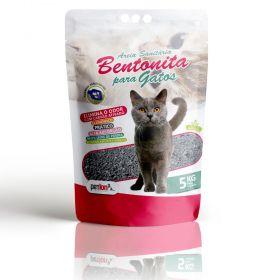 Kit com 4un de 5kg Areia Sanitária Bentonita Petlon para Gatos