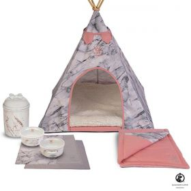 Kit Tenda Apache Woof Classic Empire Rosé completo