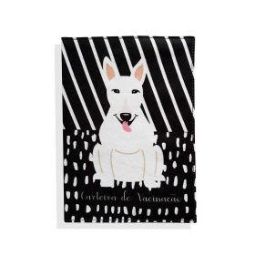 Porta Carteira de Vacinação Bull Terrier