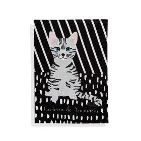 Porta Carteira de Vacinação Gato American Shorthair