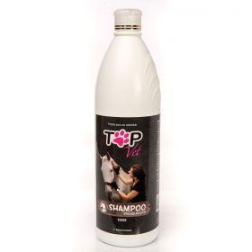 Shampoo Branqueador para Cavalos Top Vet