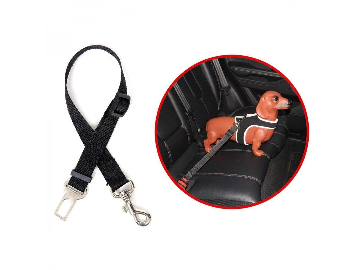 Adaptador de Cinto de Segurança para Coleira do Pet