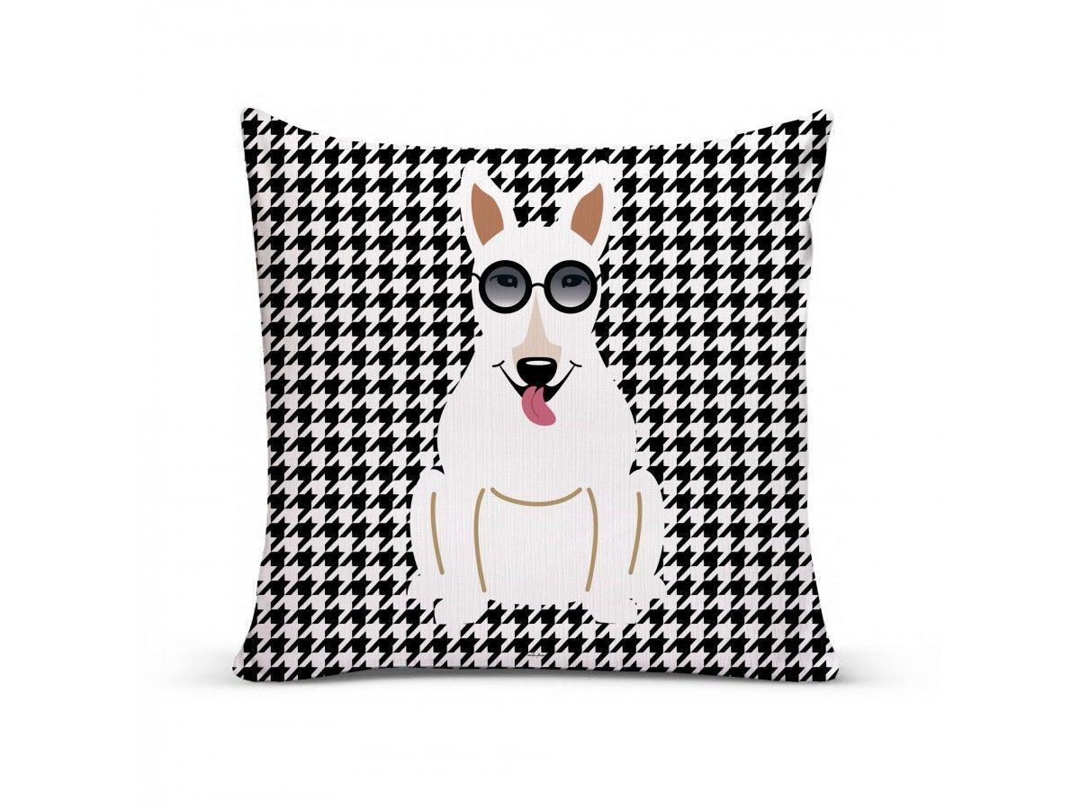 Almofada com Capa Personalizada Bull Terrier