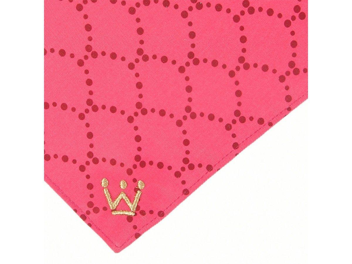 Bandana Woof Classic Deep III Sereia Pink