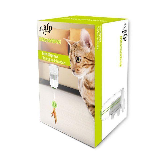 Brinquedo AFP de Petiscos Treat Dispenser para Gatos