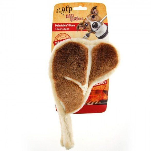 Brinquedo de Pelúcia Bisteca BBQ Delectable T-Bone AFP