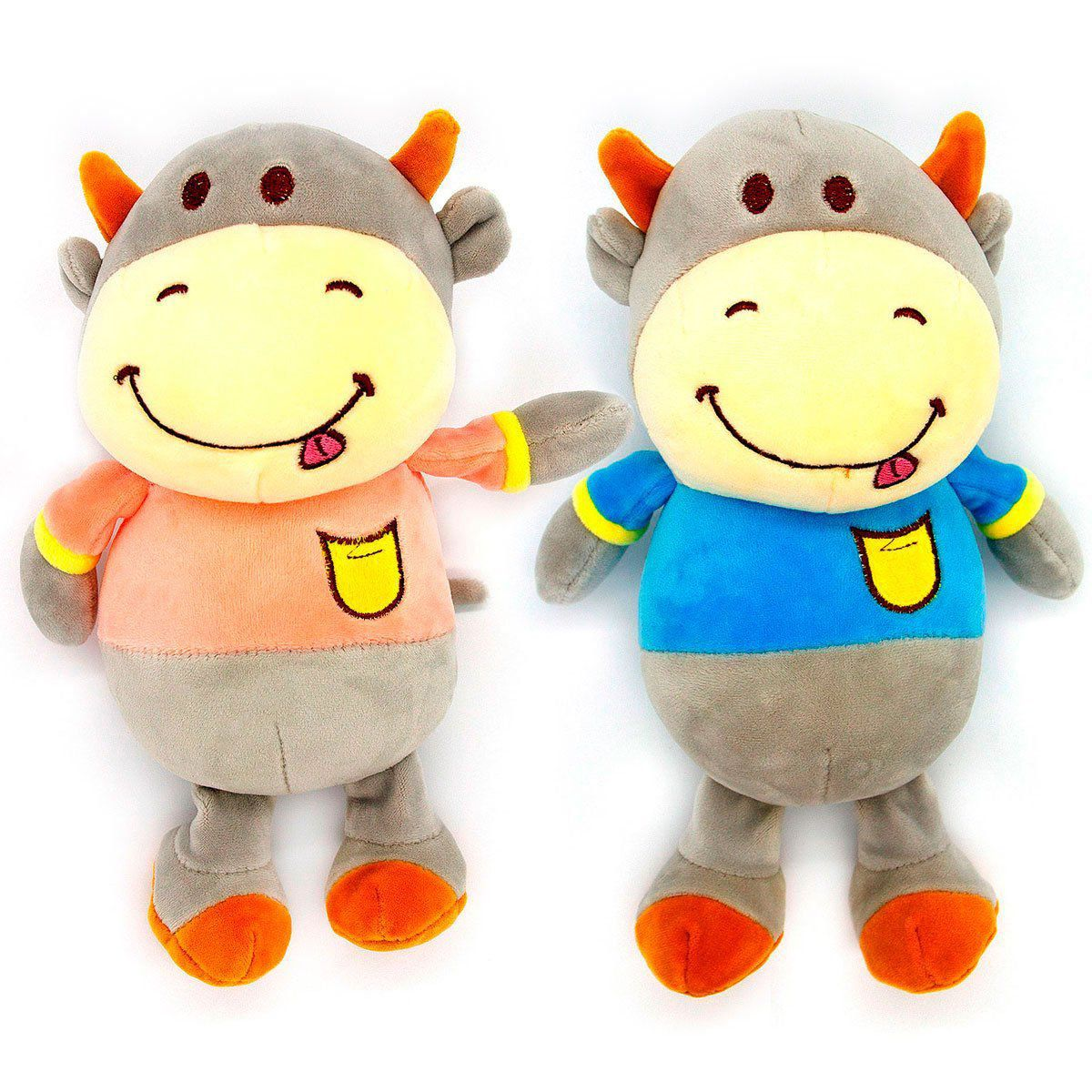 Brinquedo de Pelúcia Buddy Hipopótamo