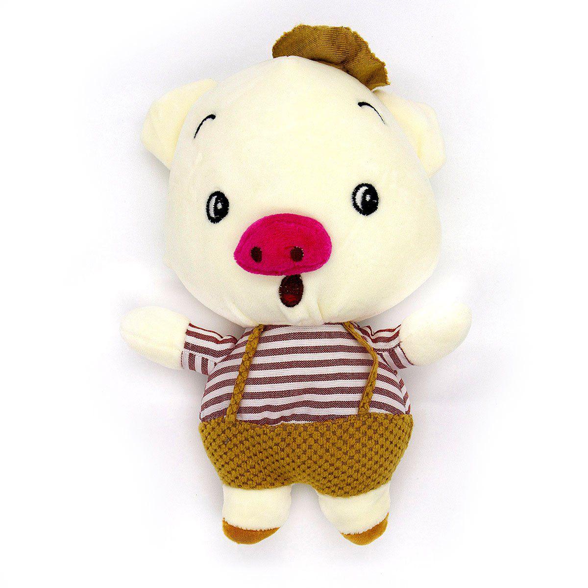 Brinquedo de Pelúcia Buddy Porquinhos