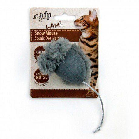 Brinquedo Ratinho Cinza Snow Mouse AFP