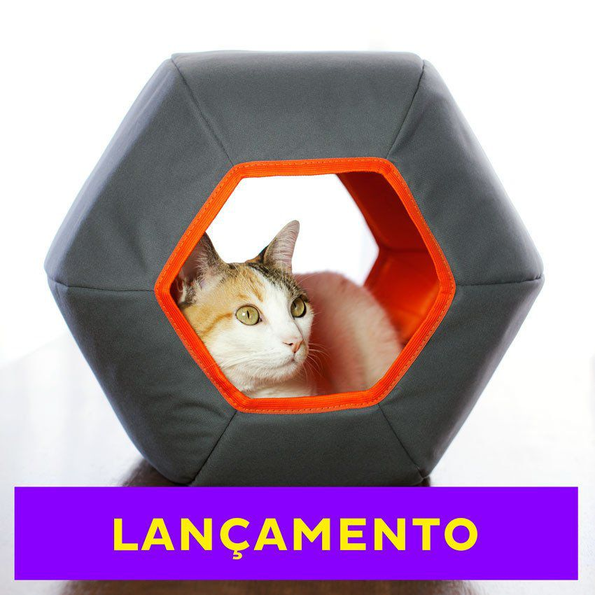 Cama para Gato Toca Mundi Gatton Cinza