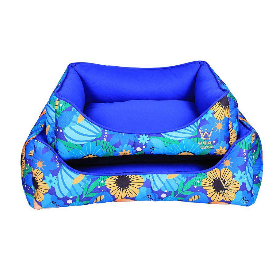 Cama Woof Classic My Garden Azul