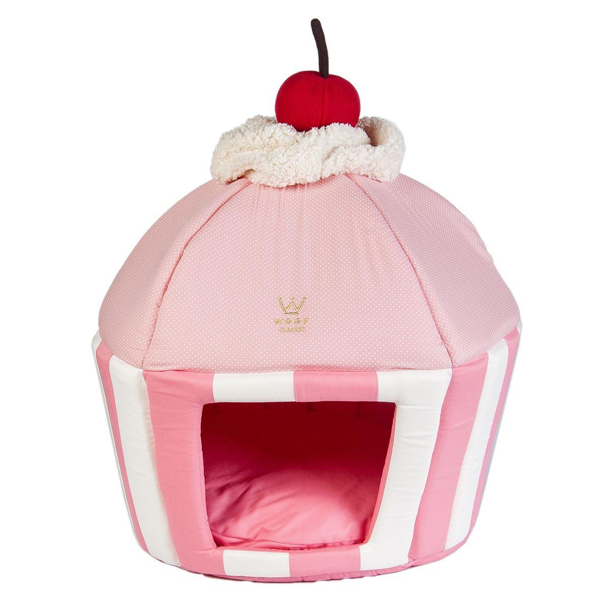 Caminha Cupcake Woof Classic Rosa Poá