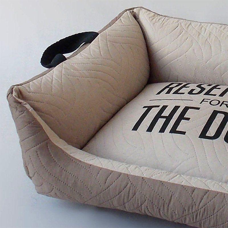 Caminha para Cachorro Beds for Pets Matelassê Marrom