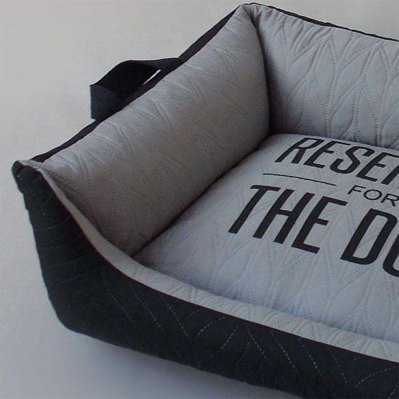 Caminha para Cachorro Beds for Pets Matelassê Preto