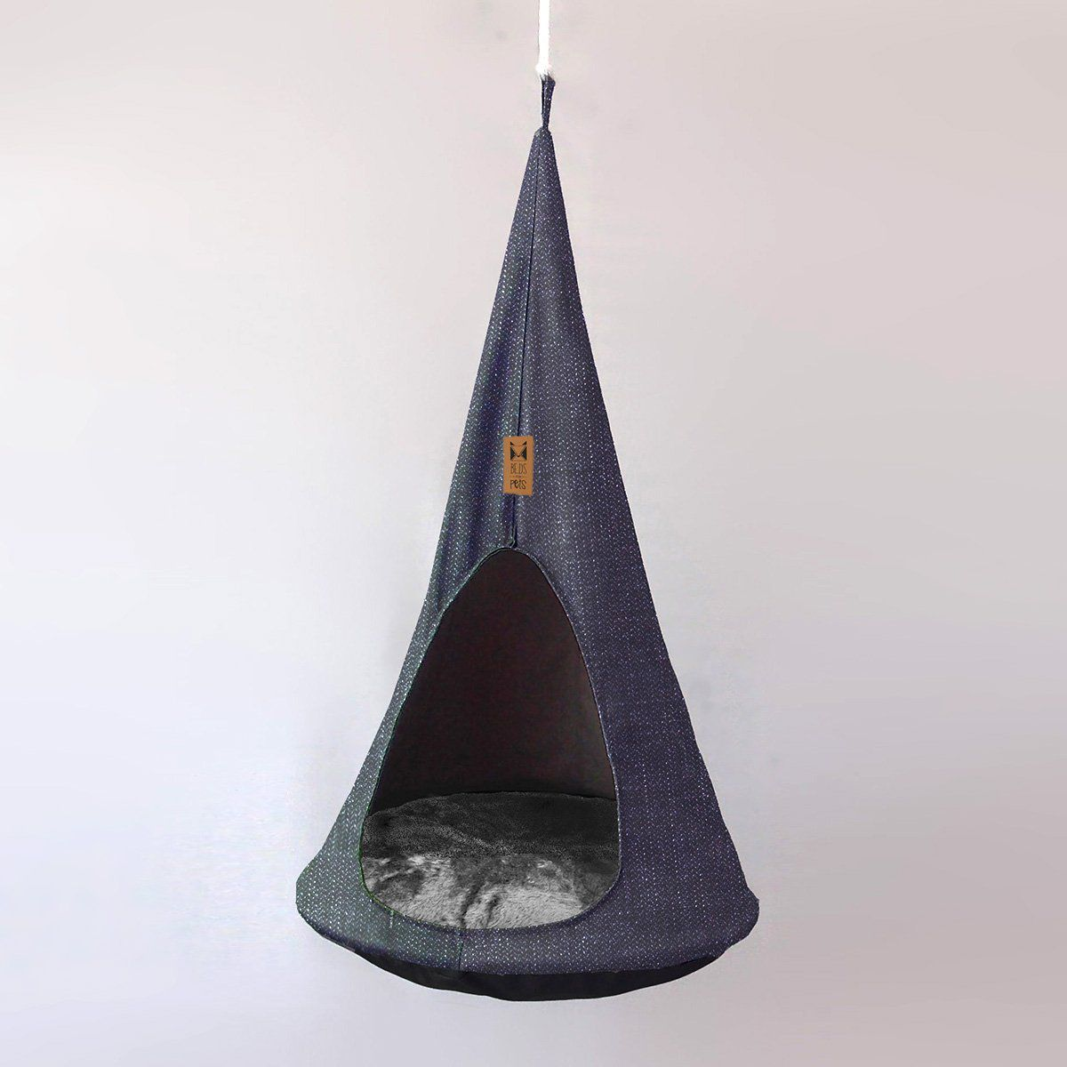 Caminha Suspensa para Gatos Cat Cocoon Jeans Beds for Pets