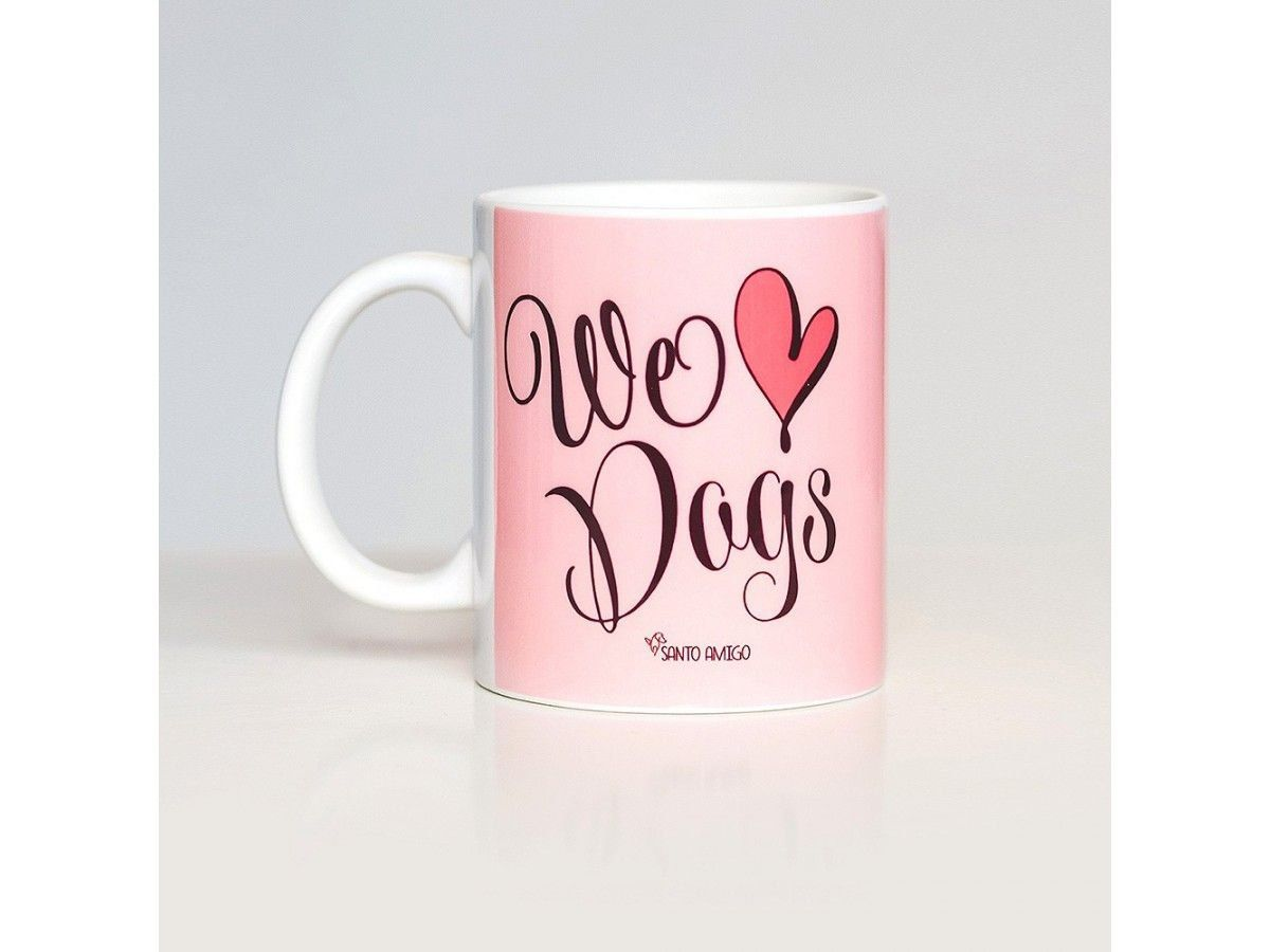 Caneca We Love Dogs