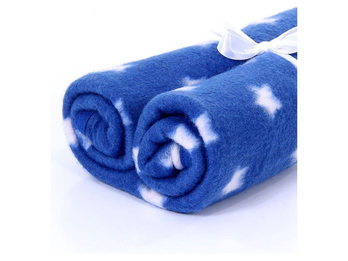Cobertor Pet Manta Soft Premium Estrela Azul