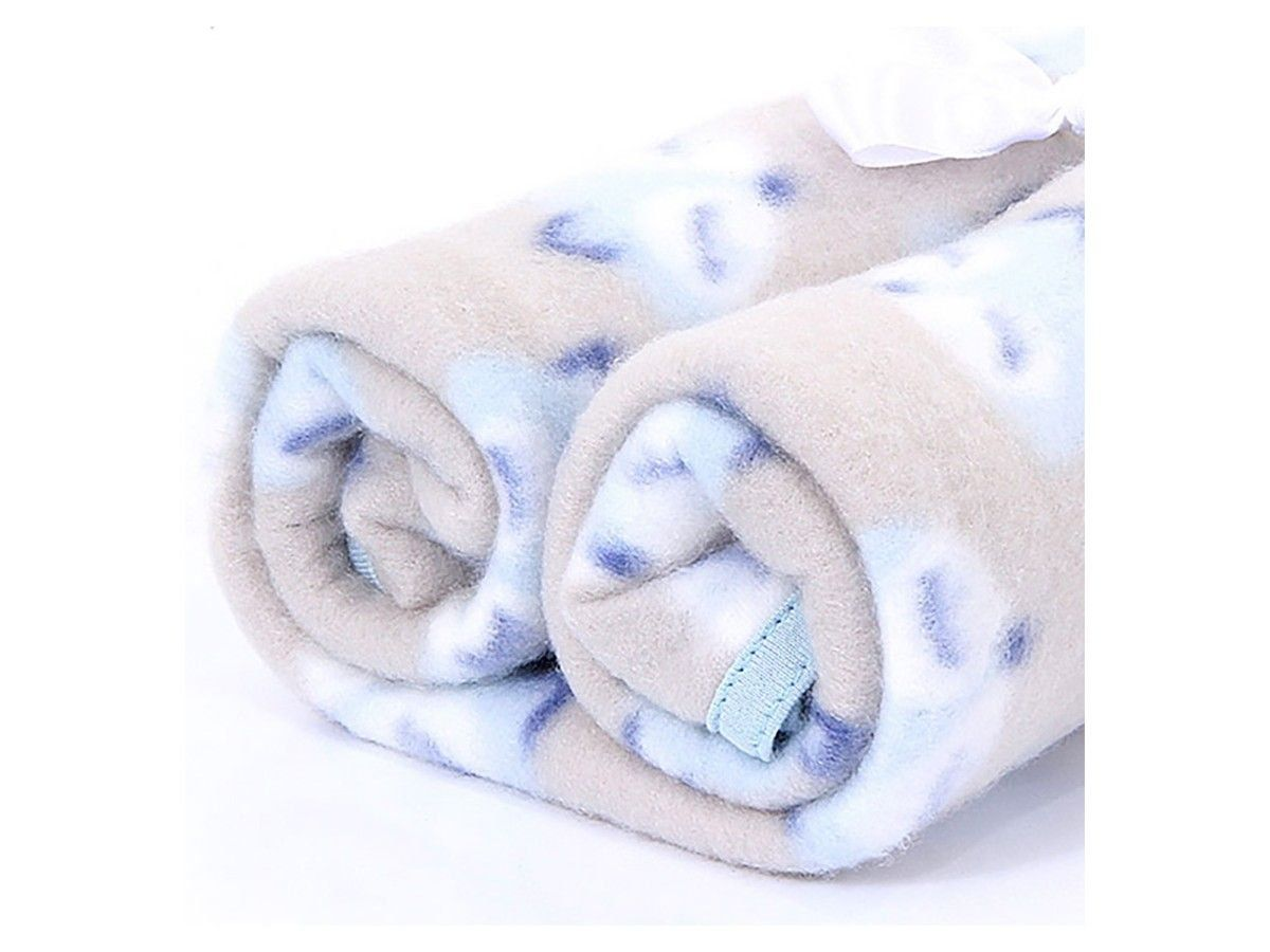 Cobertor Pet Manta Soft Premium Raposa Azul