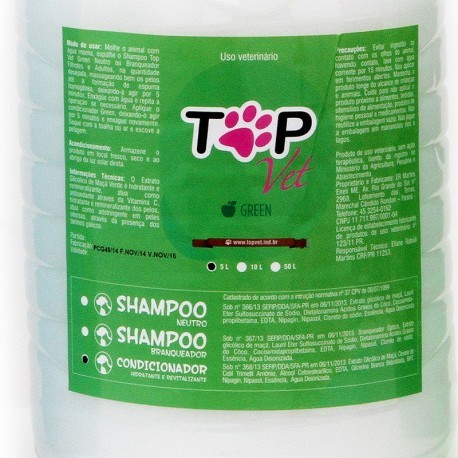 Condicionador Top Vet Green 5L