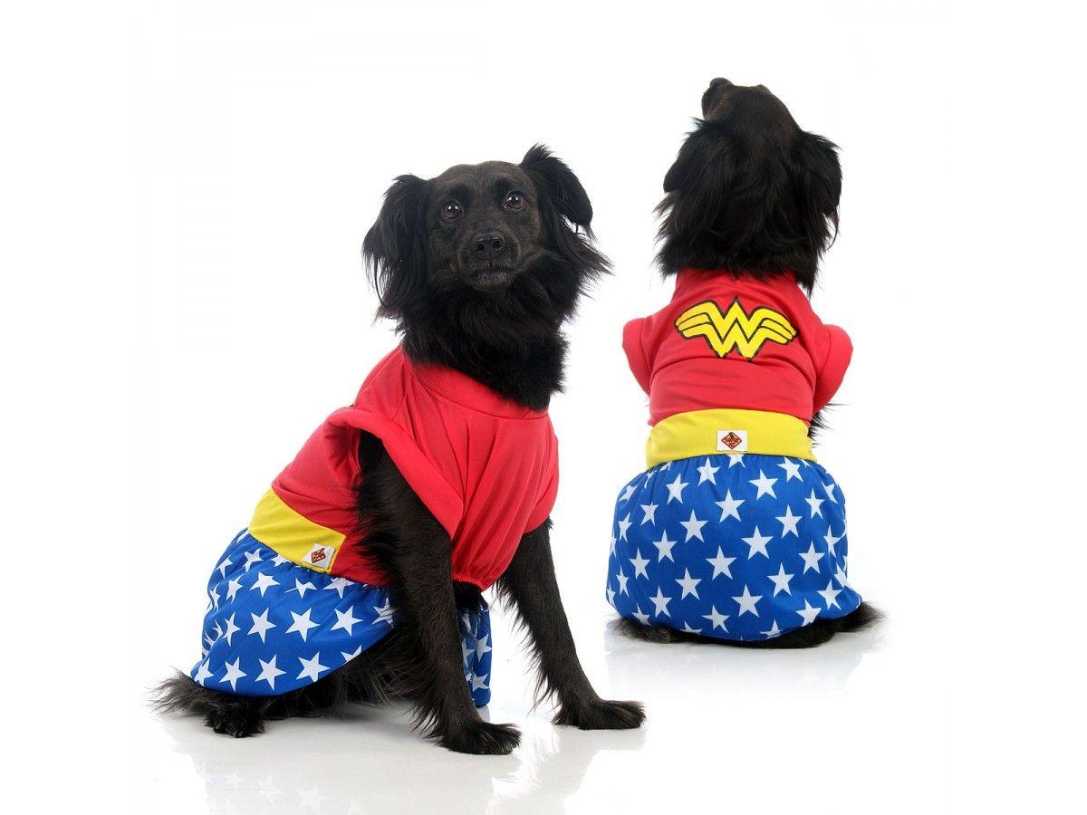 Fantasia para Cachorro Mulher Maravilha™ Licenciada