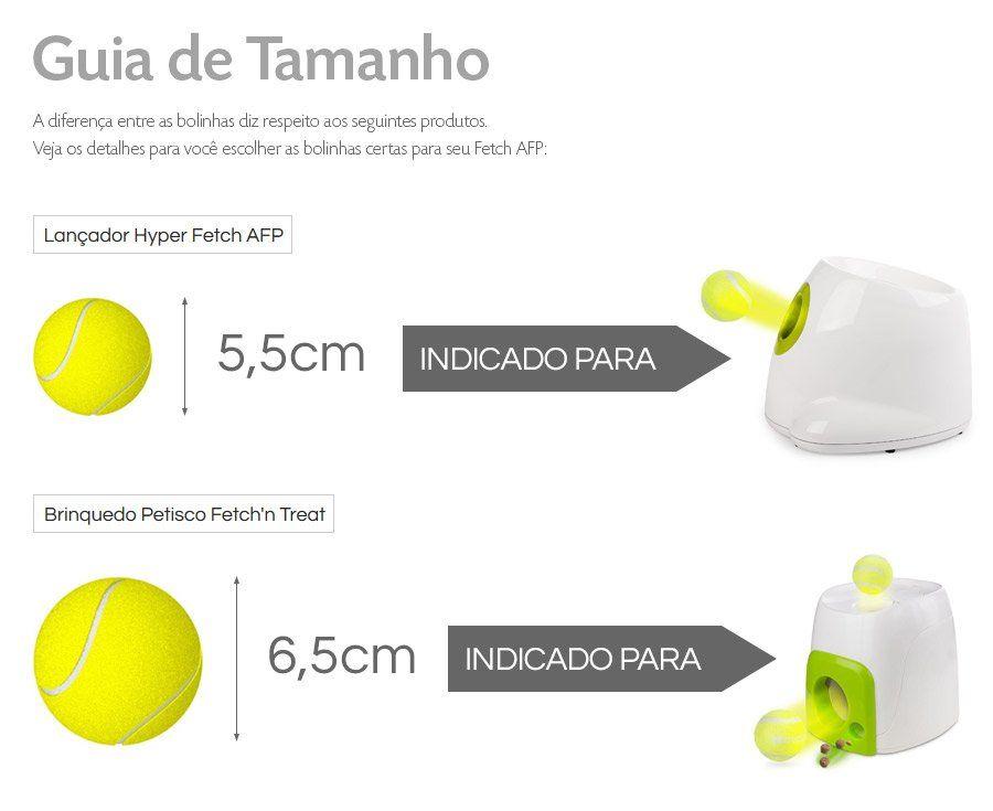 Kit 6un Bolinhas de Tênis para Fetch AFP