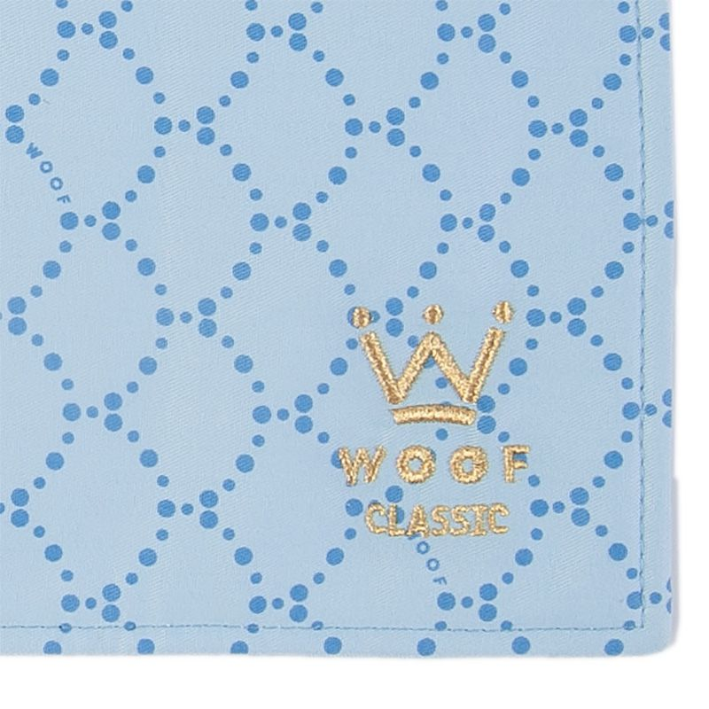 Kit Fofinha + Comedouros Deep Blue Woof Classic
