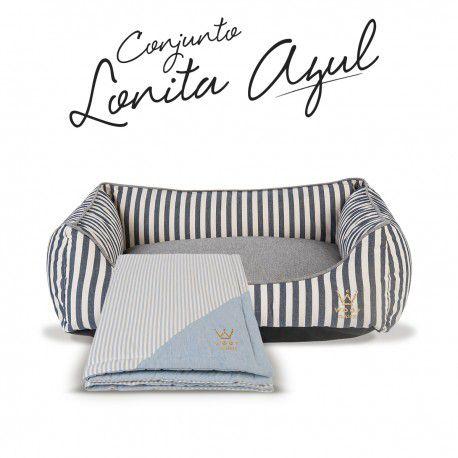 Kit Lonita Azul Woof Classic