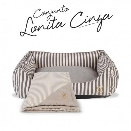 Kit Lonita Cinza Woof Classic