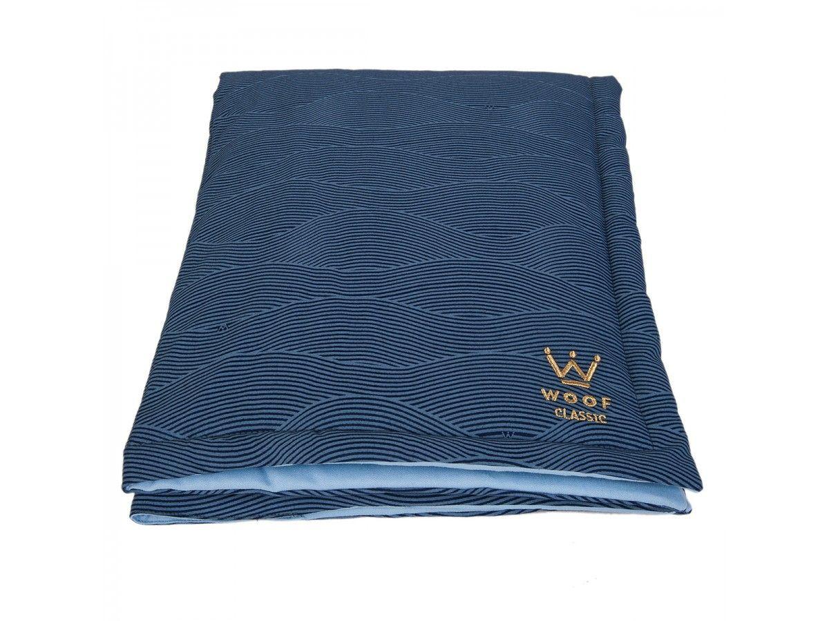 Manta Edredom Woof Classic Deep Azul