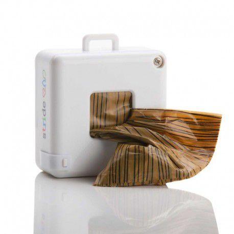 Pedômetro Stride + Dispenser + 7 Sacos Higiênicos Biodegradáveis
