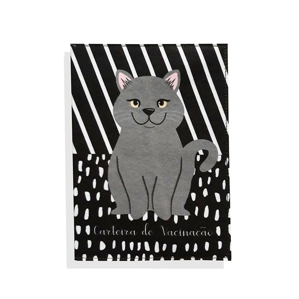 Porta Carteira de Vacinação Gato British Shorthair