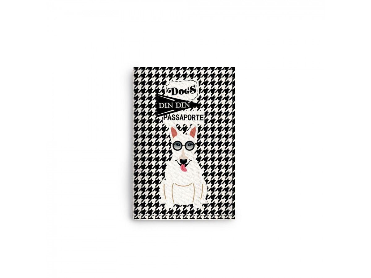 Porta Documentos / Passaporte Bull Terrier