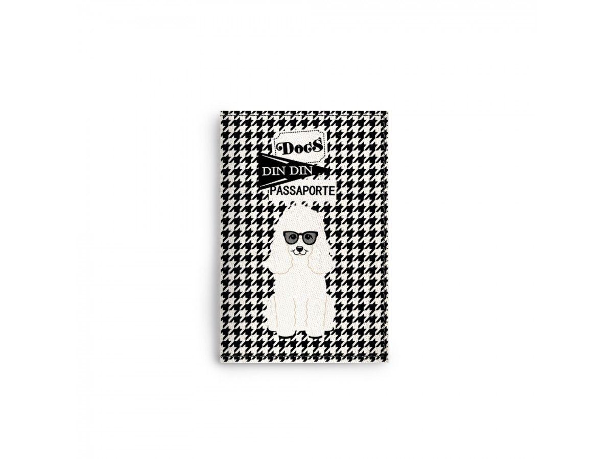 Porta Documentos / Passaporte Poodle