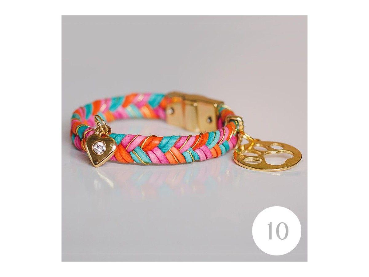 Pulseira Vibe Color Dog Lover de 19,5cm