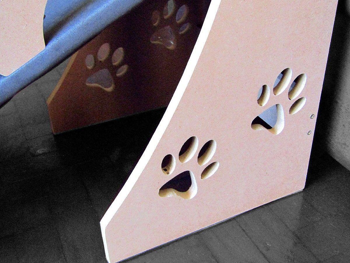 Rampa para Cachorro Pequeno 45cm Altura