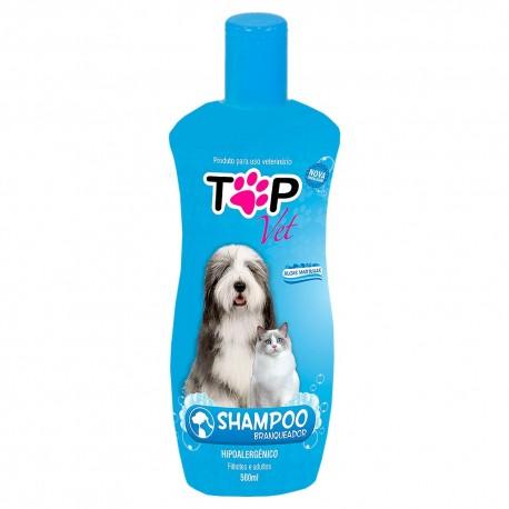 Shampoo Top Vet Branqueador Hipoalergênico