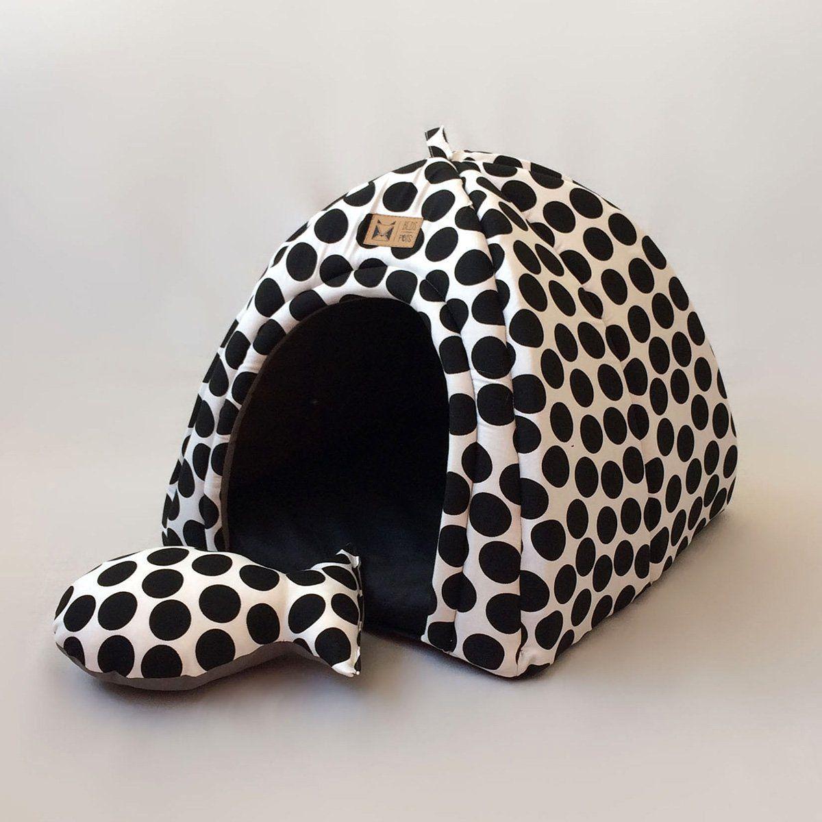 Toca Iglu para Cachorro Posh Dots Beds for Pets